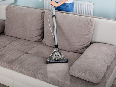 Deodorize and clean your upholstery with baking soda