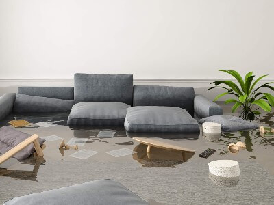 How much does it cost to correct flood damage?