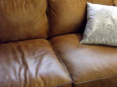 Leather Furniture Cleaning by Sally Steamer